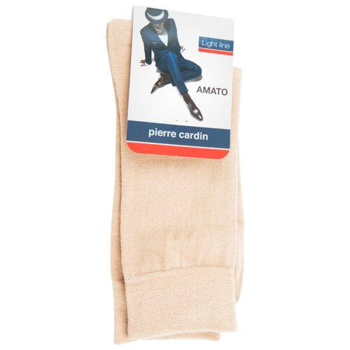 Носки Pierre Cardin Light line. Amato, размер 3, бежевый