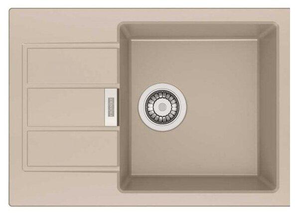 Врезная кухонная мойка FRANKE SID 611-62/38 62х43.5см полимер