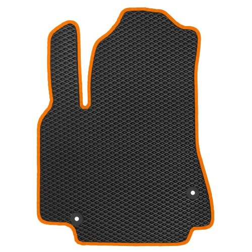 Автомобильный коврик EVA УАЗ Патриот Picap 2014-н.в. ViceCar (оранжевый кант)