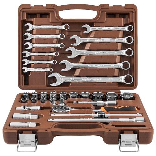 Набор инструментов Ombra (33 предм.) OMT33S коричневый набор инструментов ombra omt75s