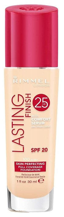 Rimmel Тональный крем Lasting Finish 25HR with Comfort Serum 30 мл