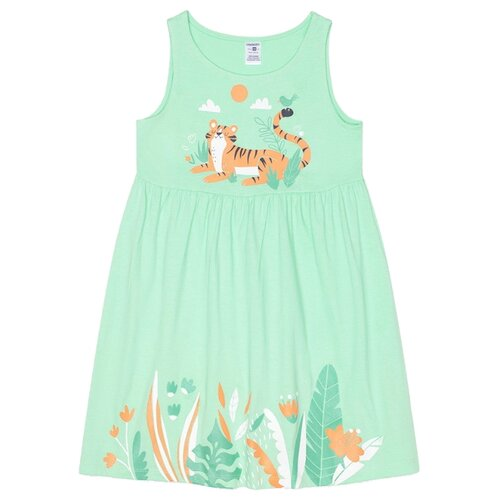 Платье crockid размер 110, Весенняя зелень printio весенняя луша