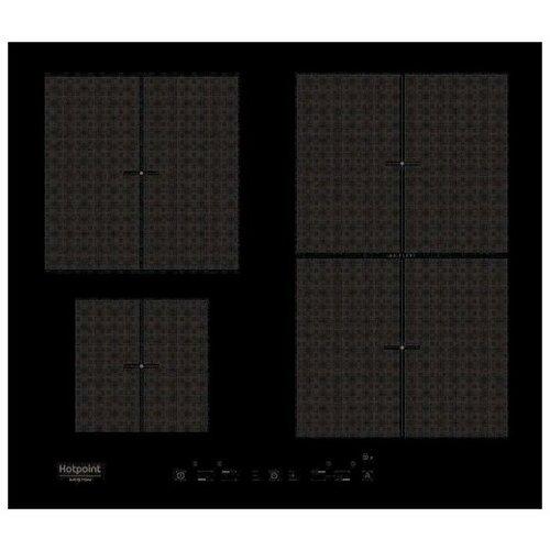 Индукционная варочная панель Hotpoint-Ariston KIT 641 F B варочная панель электрическая ariston kis 841 f b черный