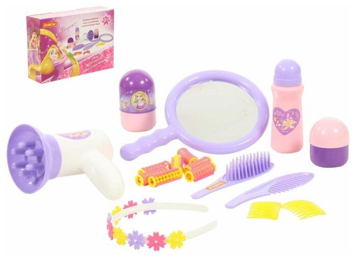 Салон красоты Полесье Disney Рапунцель Cтань принцессой! в коробке (70807)
