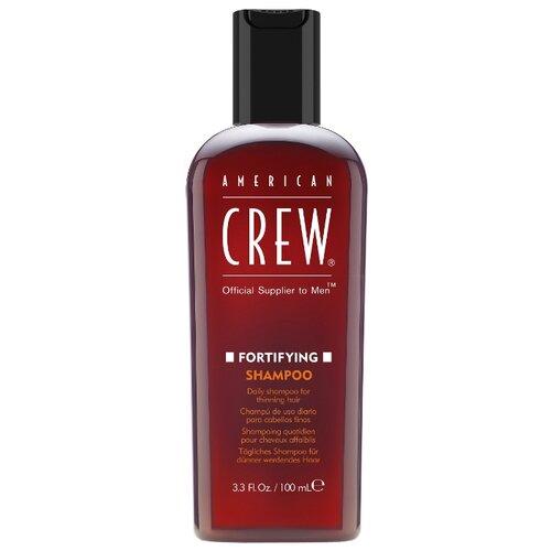 American Crew шампунь Fortifying для ежедневного ухода за тонкими волосами 100 мл