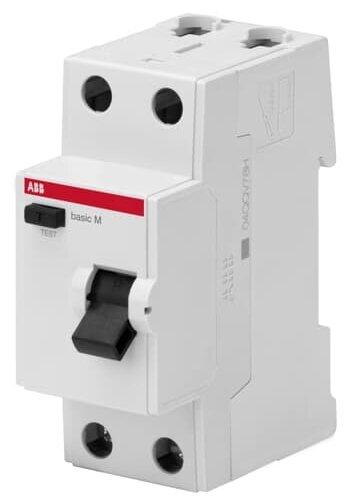 УЗО ABB 30мА тип AC BMF412 2 полюса