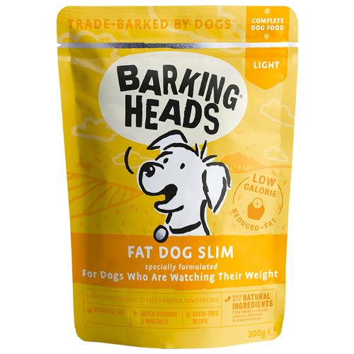 Корм для собак Barking Heads (0.3 кг) 1 шт. Fat Dog Slim паучи 300г