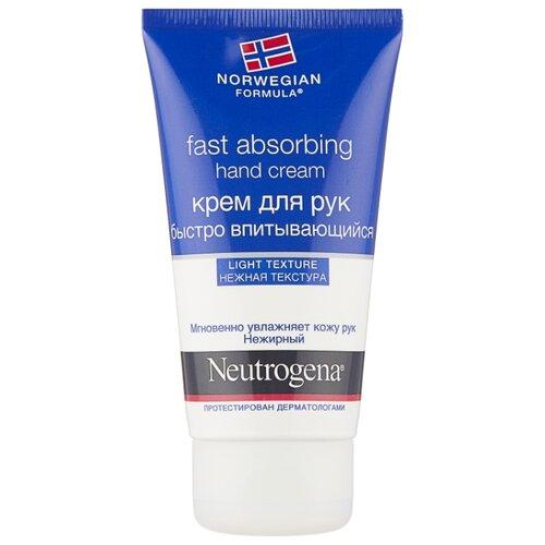 Крем для рук Neutrogena Norwegian formula быстро впитывающийся 75 мл крем neutrogena healthy skin visibly even