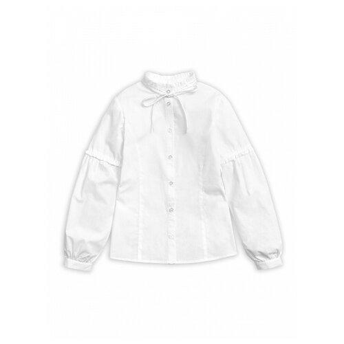 Купить Блузка Pelican размер 10, белый, Рубашки и блузы
