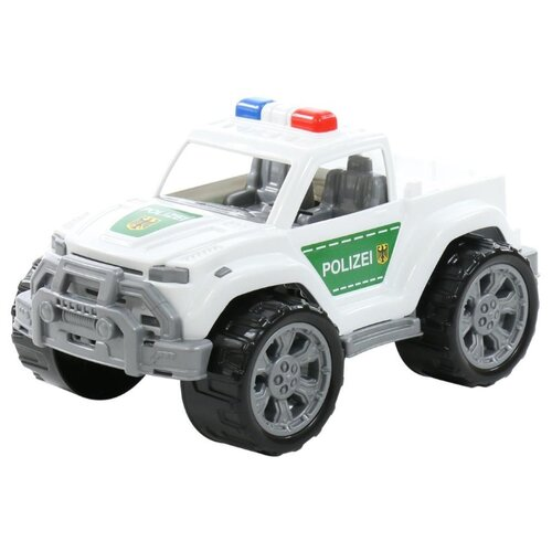 Купить Внедорожник Полесье Легион патрульный №1 (76557) 28.5 см белый, Машинки и техника
