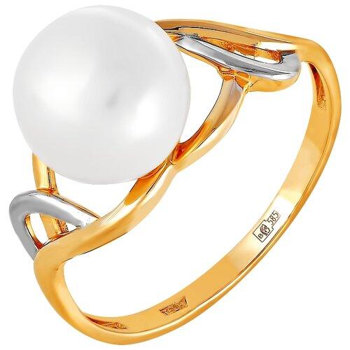 Фото - ПримаЭксклюзив Кольцо с 1 жемчугом из красного золота 190-1-779Р, размер 17 примаэксклюзив кольцо с 1 жемчугом из красного золота 190 1 921р размер 17
