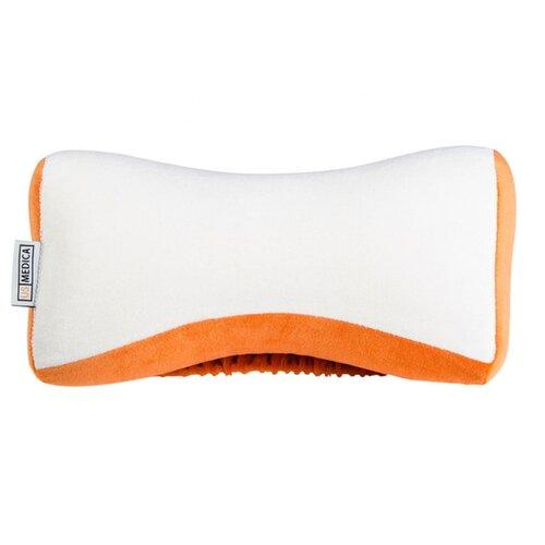 Автомобильная подушка на подголовник US Medica US-X белый/оранжевый