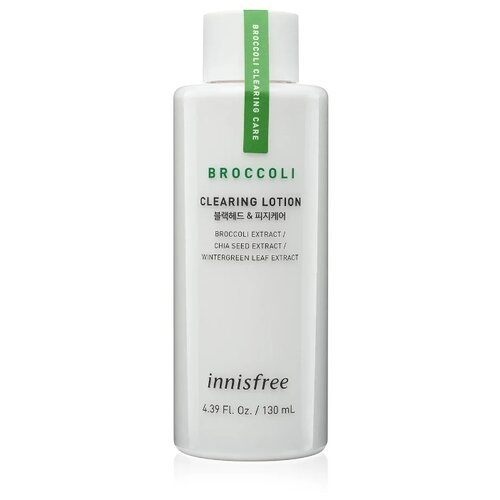 Innisfree Лосьон Broccoli Clearing 130 мл innisfree лосьон jeju lava seawater 160 мл