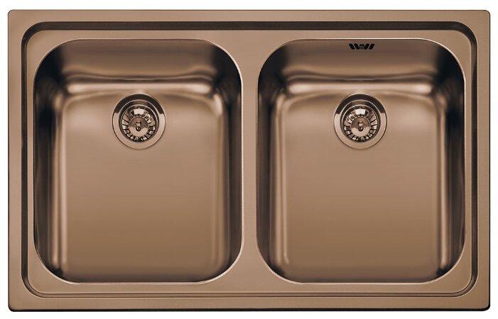 Врезная кухонная мойка smeg SP792RA2