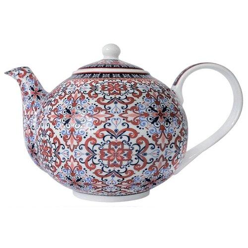 Коралл Заварочный чайник B0620-A06948 1 л синий/красныйЗаварочные чайники<br>