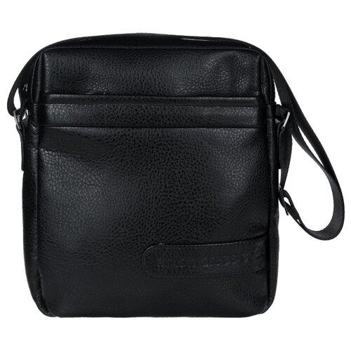Сумка планшет Antan 8-9 В, искусственная кожа, черный сумки magnolia сумка женская a761 7363 лак искусственная кожа page 8