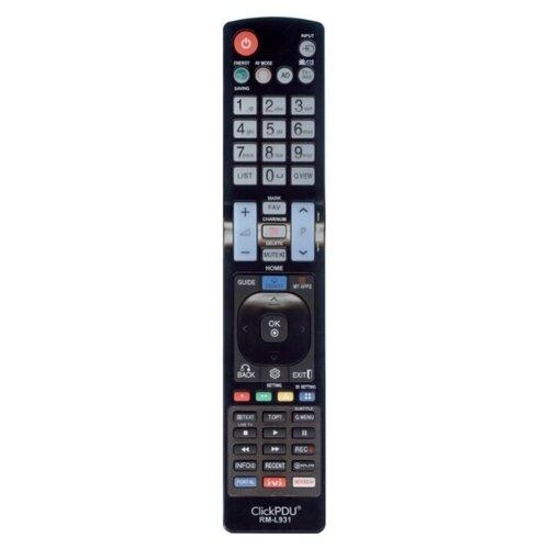 Фото - Пульт универсальный ClickPdu RM-L931 для телевизоров LG пульт clickpdu для mystery mtv 2622lw универсальный
