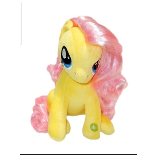 Мягкая игрушка Флаттершай My Little Pony, Hasbro, озвученная 25см