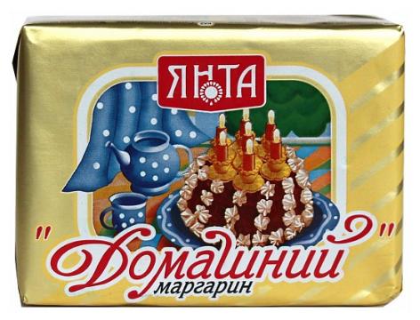 ЯНТА Маргарин Домашний 65%, 180 г
