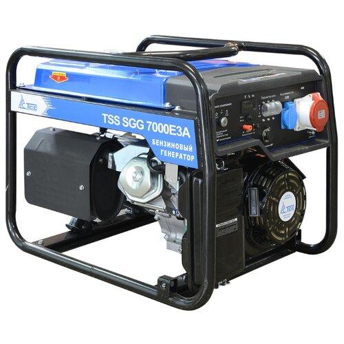 Бензиновый генератор ТСС SGG 7000E3A (7000 Вт)
