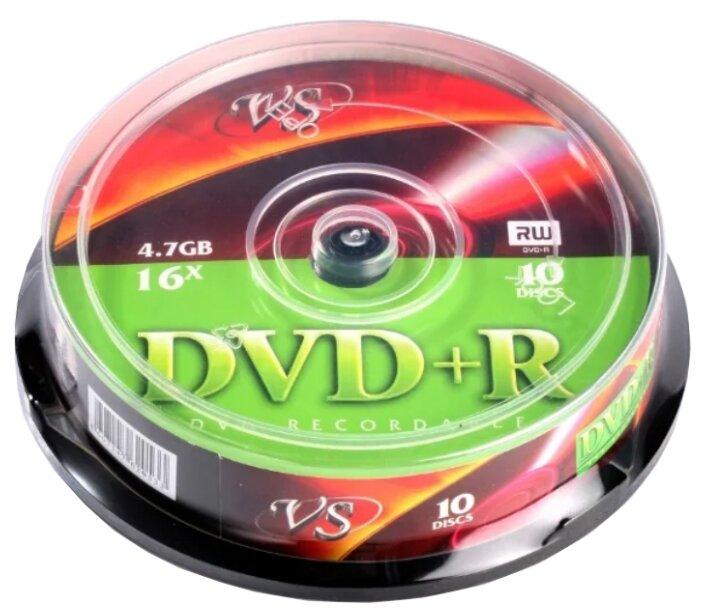 Диск DVD+R VS 4.7 GB 16x