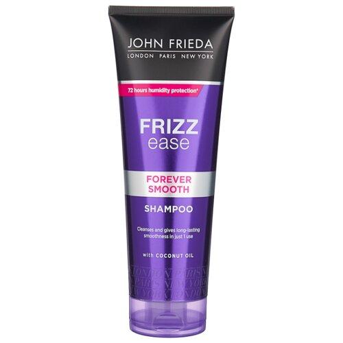 John Frieda шампунь Frizz Ease Forever Smooth для гладкости волос длительного действия против влажности 250 мл john frieda кондиционер для гладкости волос против влажности frizz ease forever smooth 250 мл