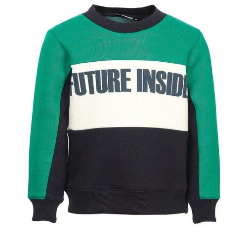 Фото - Свитшот Oldos размер 134, зеленый куртка oldos гари ass201rjk04 размер 110 зеленый