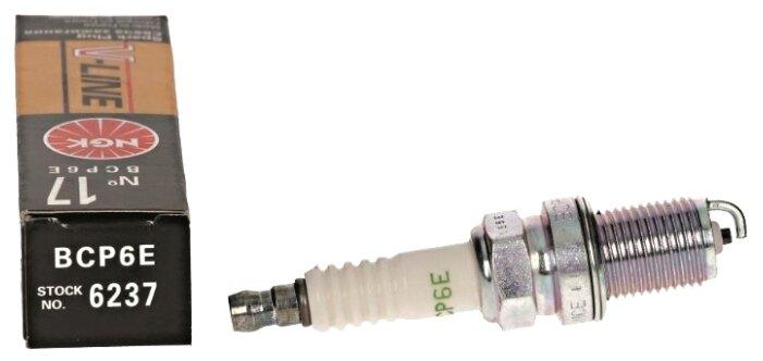 Сравнение с Свеча зажигания NGK 6237 BCP6E
