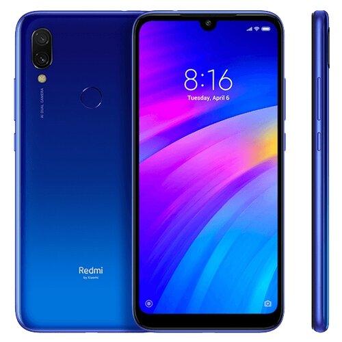 Смартфон Redmi 7 3/64GB синийМобильные телефоны<br>