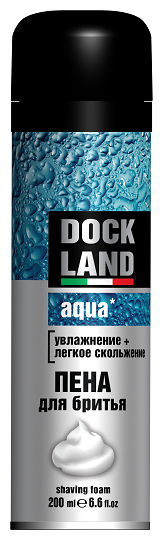 Пена для бритья Aqua Dockland
