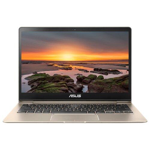 """Ноутбук ASUS ZenBook 13 UX331UA (Intel Core i5 8250U 1600 MHz/13.3""""/1920x1080/8GB/256GB SSD/DVD нет/Intel UHD Graphics 620/Wi-Fi/Bluetooth/Windows 10 Home) 90NB0GZ5-M05130 золотой"""