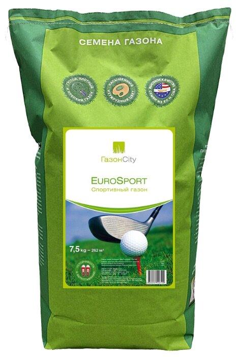 Смесь семян ГазонCity EuroSport Спортивный газон, 7.5 кг
