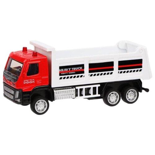 Купить Грузовик Пламенный мотор 870406 1:72 красный/белый, Машинки и техника
