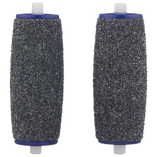Сменная насадка для роликовой пилки Scholl Velvet Smooth Diamond Crystals 2 ролика экстражесткие черный scholl сменные насадки экстражесткие для электрической роликовой пилки 2 шт
