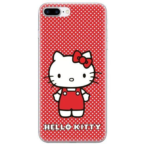 Чехол TPU лицензия Hello Kitty для iPhone 7 Plus / 8 Plus , айфон 7+ , айфон 8+