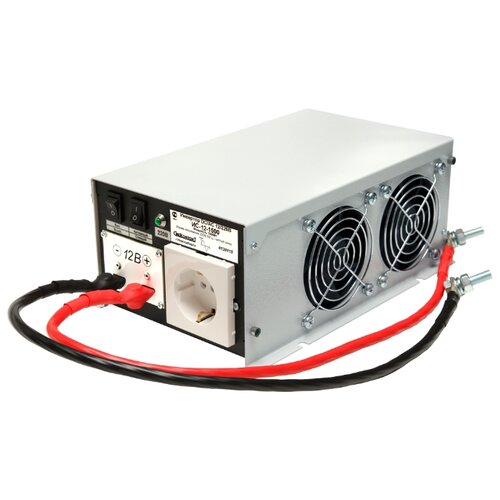Инвертор СибКонтакт ИС-12-1500 DC-AC серый