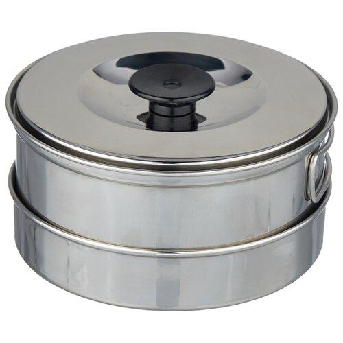 Набор туристической посуды Tramp TRC-001, 8 шт. серый металлик