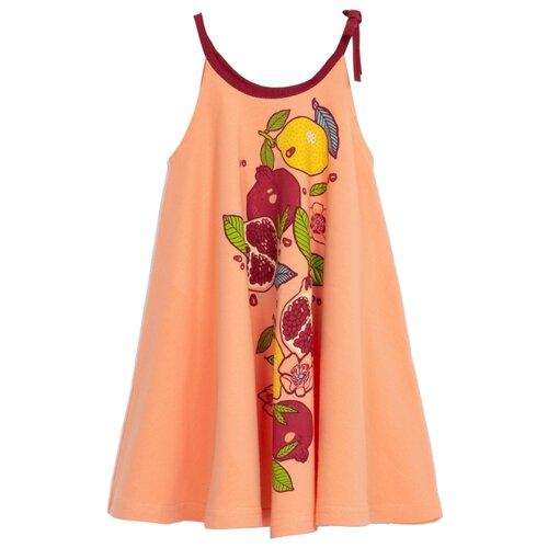Платье ЁМАЁ размер 86, персиковыйПлатья и юбки<br>