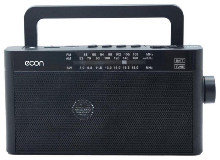 Купить Радиоприемник ECON ERP-2200UR черный по низкой цене с доставкой из Яндекс.Маркета