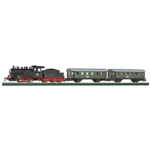 Купить PIKO Стартовый набор Пассажирский поезд , серия Hobby, 57112, H0 (1:87), Наборы, локомотивы, вагоны