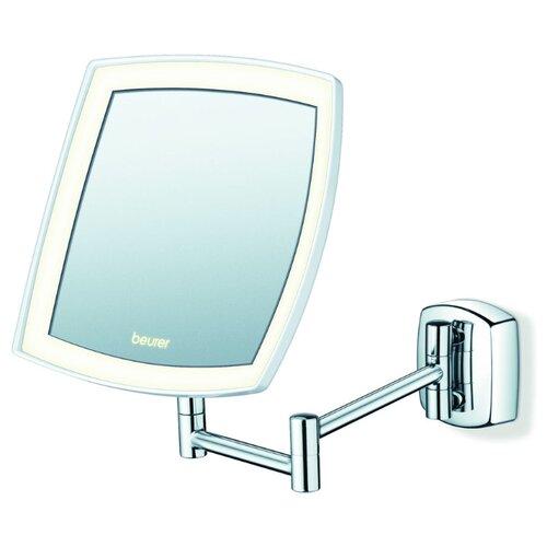 Зеркало косметическое настенное Beurer BS89 с подсветкой серебристый