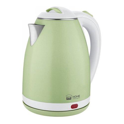Чайник Home Element HE-KT-193, зеленый нефрит чайник home element he kt 174 сталь