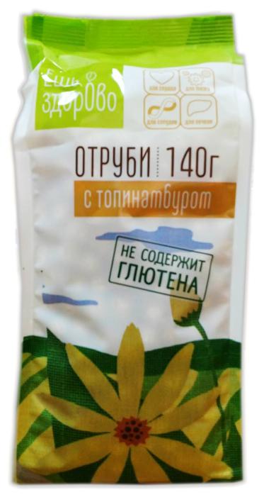 Отруби Ешь ЗдорОво амарантовые с топинамбуром без глютена, 140 г