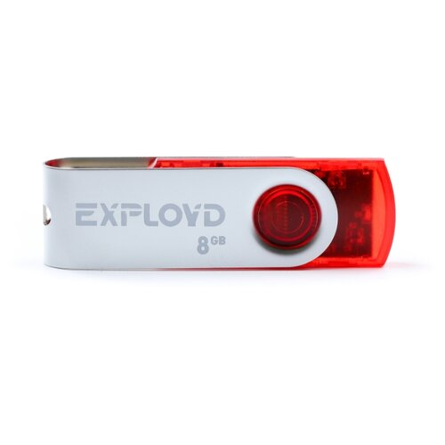 Фото - Флешка EXPLOYD 530 8GB red usb flash drive 8gb exployd 560 red ex 8gb 560 red