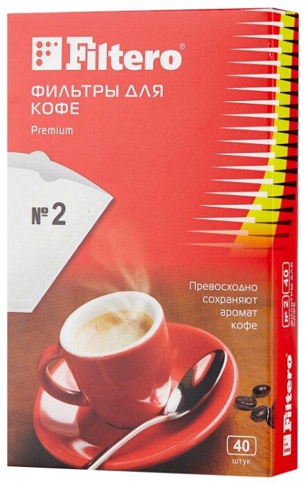 Одноразовые фильтры для капельной кофеварки Filtero Premium