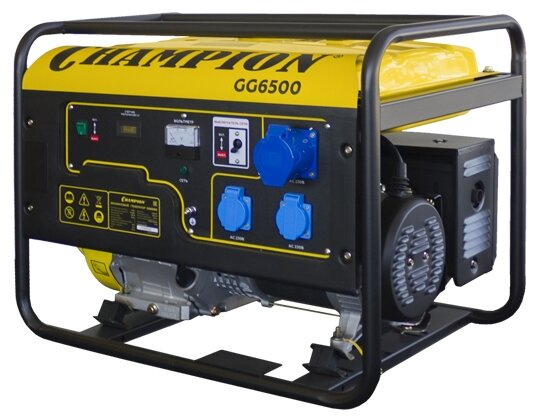 Бензиновый генератор CHAMPION GG6500 (5000 Вт)
