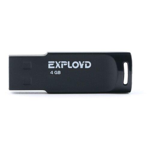 Купить Флешка EXPLOYD 560 4GB black