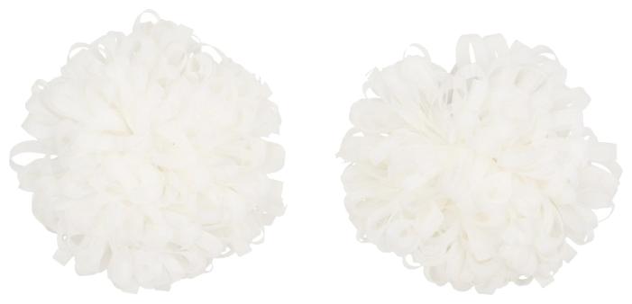 Резинка Stimark Бант 7 см 2 шт. белый