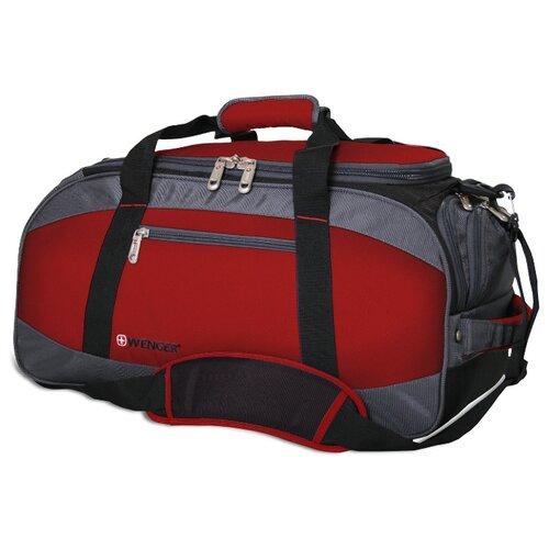 сумка планшет wenger текстиль светло серый Сумка спортивная WENGER 52744165, красный/серый/чёрный