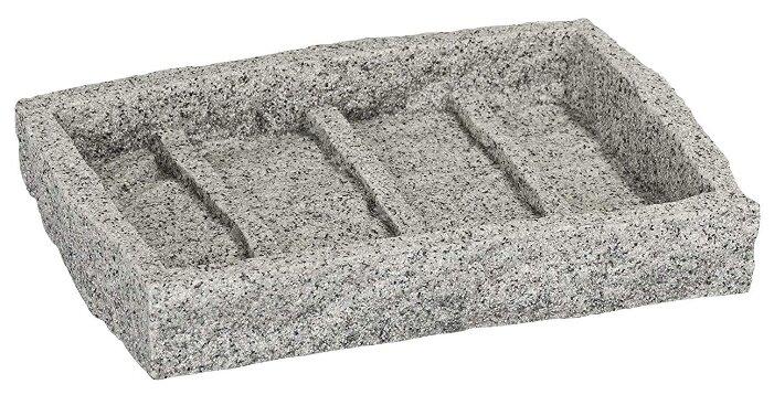 Мыльница Wenko Granite серый